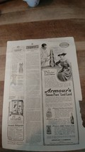 1916 Ladies Home Journal Armours Quality Products Ad Antique Ephemera - $5.00