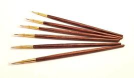 6-PACK Super Fine Thin Art Brush Precise Line Detailer Paintbrush - $11.83