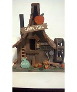 CUTE CIDER MILL, VERY DETAILED, 10.5 X 8.5 - $11.00