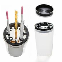 Handy Holder UV Acrylic Pen Cleaner Washing Cup Bottle Nail Art Brush Pot Tool L - $4.99