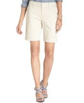 Tommy Hilfiger Hollywood Bermuda Beige Shorts, Size 16 NWT - $39.00