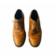 Cole Haan Mens  dress shoe 9 M cap toe oxford leather lace up business  - $46.19