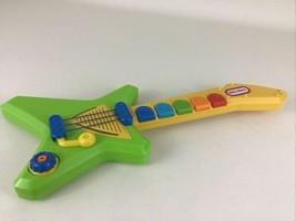 Little Tikes Pop Tunes Guitar Musical Instrument Whammy Bar Riff Pre-Set Tunes - $26.68