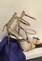 Authentic Sandals Heels Gold  GZ  SZ 41 Stunning !  - €273,19 EUR