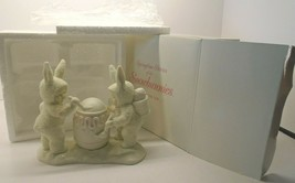 """Dept. 56 Springtime Stories of the Snowbunnies #2603-4 """"I'LL PAINT THE T... - $19.79"""