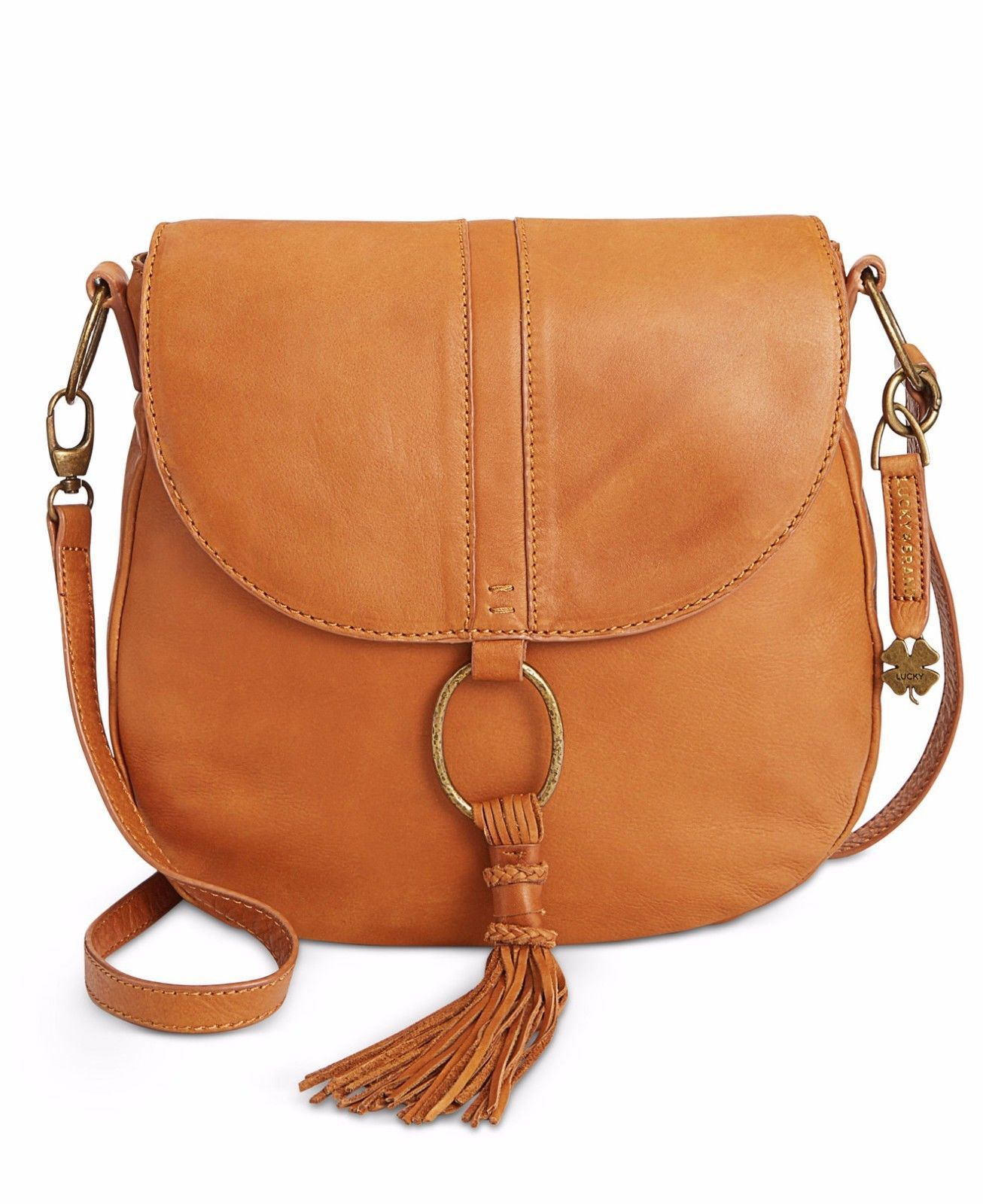 Primary image for Lucky Brand Athena Convertible Flap Saddle Bag MSRP: $188