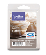Better Homes and Gardens Scented Wax Cubes, Vanilla Bean Buttercream, 2.... - $3.79