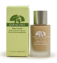 Origins Stay Tuned Balancing Face Makeup BEACH 1 fl oz New In Box A12 - $44.99
