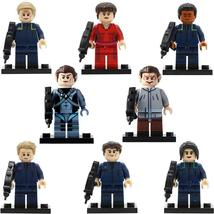 8pcs/set Star Trek Movie Trip Travis Spock TPol Lego Minifigures Block Toy Gift - $11.99