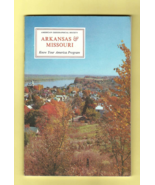 Book - ARKANSAS & MISSOURI American Geographical Society KNOW YOUR AMERI... - $4.00