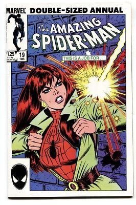 AMAZING SPIDER-MAN ANNUAL #19 1985 MARVEL VF/NM