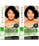 2 Clairol Natural Instincts 2BB Blue Black Hair Color-NO CONDITIONERS In... - $16.80