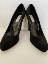 Michael Kors Womens Black Suede Closed Toe Platform Pumps Shoes 7.5 M - $35.00