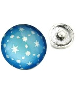 Interchangeable Button Snap Jewelry Twilight Star Celestial Photo Charm ... - $5.92