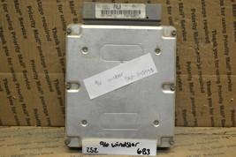 1996 1997 Ford Windstar Engine Control Unit ECU F68F12A650FA Module 252-6B3 - $18.49