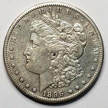 1896S MORGAN SILVER $1 DOLLAR Coin Lot# 519-39