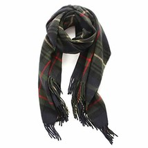Lusm Christmas Style Plaid Scarf for Women Winter Oversized Blanket Soft... - $18.28