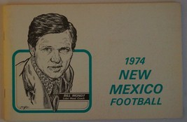 Vintage Football Media Press Guide University Of New Mexico 1974 - $13.85