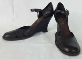 Enzo Angiolini Bautara Womens Size 7M Shoes Wedge High Heels EA Flexo Da... - $27.69
