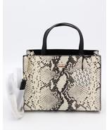Kate Spade New York Emerson Snake Embossed Leather Sam Satchel Crossbody... - $248.00