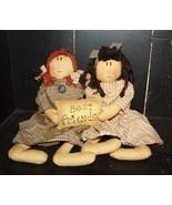 Primitive Decor  KLY17004- Best Friends Doll  - $24.95