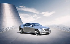 2011 Cadillac CS coupe 2, 24X36 inch poster, front profile, luxury sedan  - $18.99
