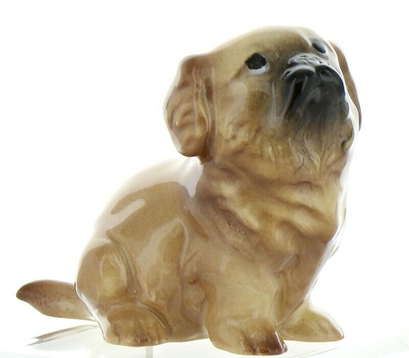 Hagen Renaker Pedigree Dog Pekingese Puppy Ceramic Figurine