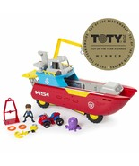 PAW Patrol Sea Patrol - Sea Patroller Transforming Vehicle with Lights &... - $76.15