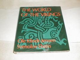 1970 The World Of The Vikings HC/DJ VG Book Klindt-jensen Svenolov ehren... - $100.00