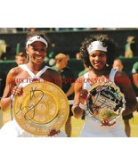 VENUS AND SERENA WILLIAMS SIGNED AUTOGRAPH 8x10 RP PHOTO TENNIS CHAMPIONS - $18.99