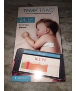 TEMP TRAQ Hands-Free TEMPERATURE MONITORING Bluetooth Single Use 24 hour... - $13.86