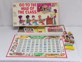 ORIGINAL Vintage 1978 Milton Bradley Go to the Head of the Class Board Game - $18.49