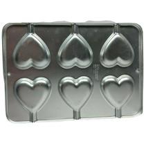 Vintage Wilton Valentine Lollipop Cookie Heart Cake Pan 1995 2105-8104 - $17.22