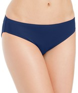 LAUREN RALPH LAUREN Navy Beach Club Solid Hipster Bikini Bottom Sz 16 NEW - $28.41
