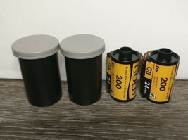 Kodak Gold 24 200 2 Rolls 35 mm Color Print Film - $14.84