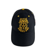 Men's Vintage Teamsters Local Union 495 Logo Embroidered Hat Black Baseb... - $16.78