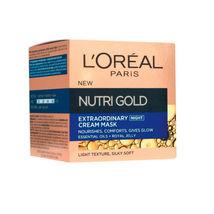 L'oreal Paris - Nutri Gold - Extraordinary Cream Mask - Night Cream - 50 Ml - $29.00