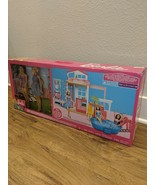 Barbie FXG57 Malibu 2 Story 6 Room Townhouse Playset with Over 25 Access... - $73.26