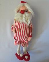 "Vintage 1950's Dakin Dream Dolls Bedtime Santa 10"" Original Tag Japan Bendable - $22.50"