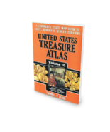 United States Treasure Atlas Volume 10 ~ Lost & Buried Treasure - $29.95