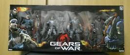 Gears of War Figure Box Set Series 2 Baird, Fenix, Dom, Theron Neca New - $249.80