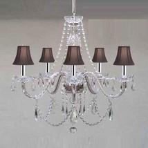 Chandelier Made with Swarovski Crystal! Murano Venetian Style Chandelier... - $209.71