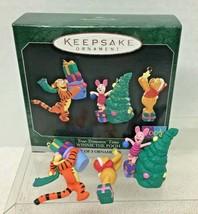 1998 Tree Trimmin Time Winnie Pooh Miniature Hallmark Christmas Tree Orn... - $18.32