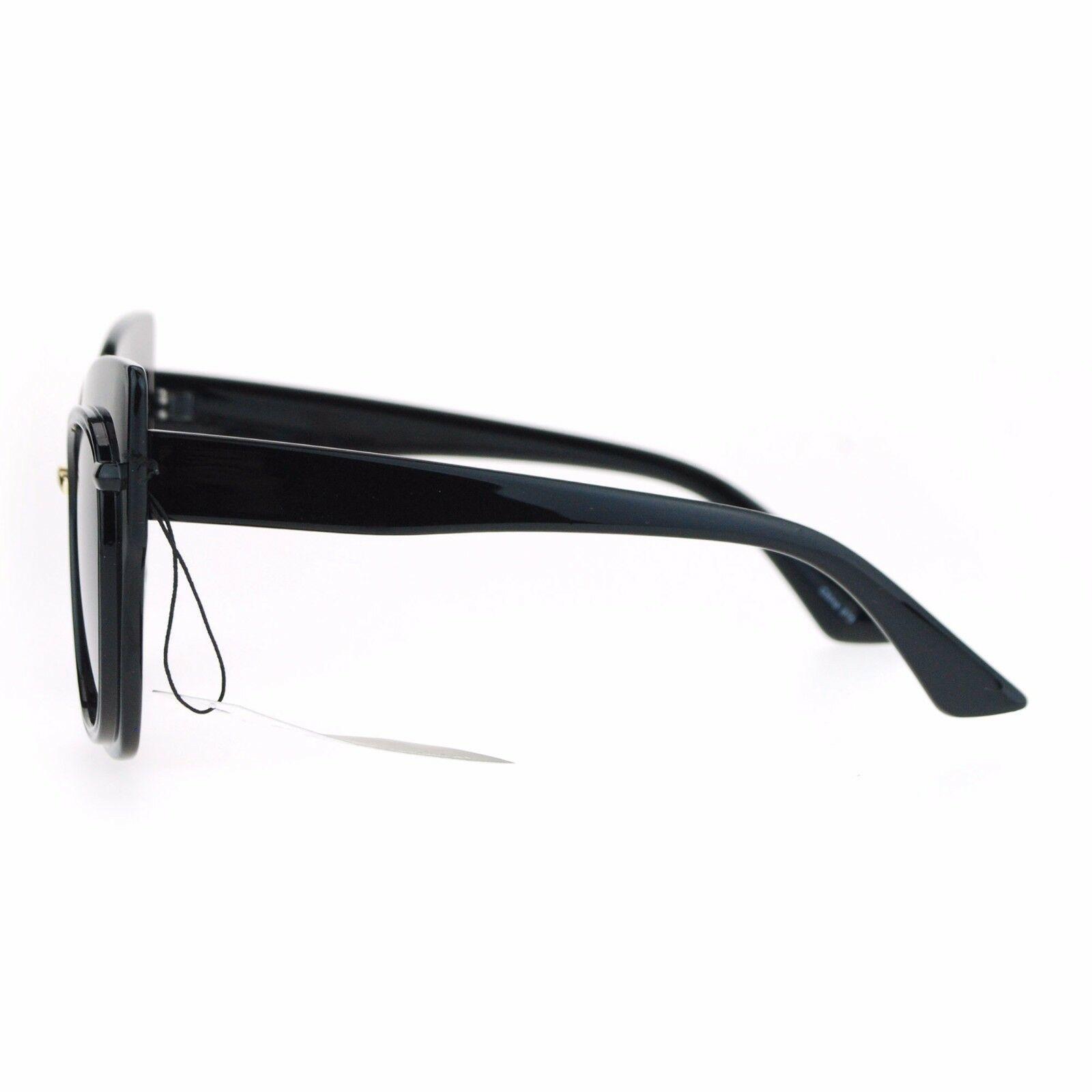 Oversized Fashion Sunglasses Womens Square Cateye Butterfly UV 400 image 8