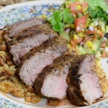 Iberico Pork Flank (Shoulder Loin) Steaks - Pluma Iberica - 1 pack, 3 pieces - 0 - $59.32