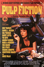 PULP FICTION MOVIE POSTER SIGNED - $180.00