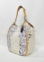 NWT Brahmin Marianna Leather Tote/Shoulder Bag in Indigo Palaminto - $319.00