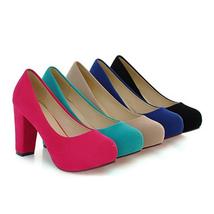 Fashion Spring Footwear For Heels High PU Women Autumn New Comfortable Shallow ZxOTq4wT
