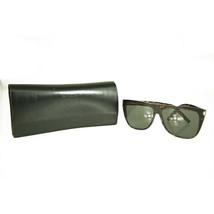 Saint Laurent SL1 Slim 002 Tortoise Like Dark Havana Brown Sunglasses - $217.80