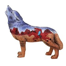 Pacific Giftware The Wolf Spirit Collection Indian Rider Wolf Collectible Figuri - $21.99